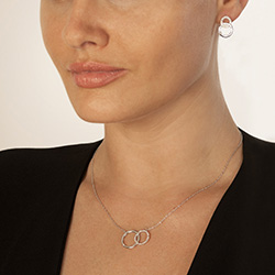 Obrázek è. 6 k produktu: Støíbrný náhrdelník Hot Diamonds Love DN127