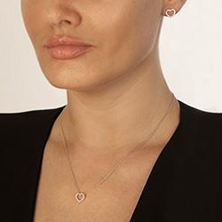 Obrázek č. 2 k produktu: Stříbrné náušnice Hot Diamonds Love DE535