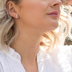 Obrázek č. 5 k produktu: Stříbrné náušnice Hot Diamonds Crescent Micro Bliss DE553