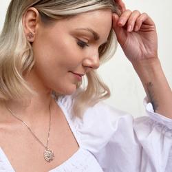 Obrázek č. 7 k produktu: Stříbrné náušnice Hot Diamonds Jasmine RG DE566