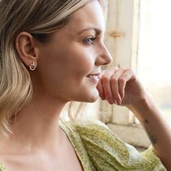 Obrázek č. 11 k produktu: Stříbrné náušnice Hot Diamonds Flora DE580