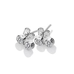 Obrázek è. 2 k produktu: Støíbrné náušnice Hot Diamonds Willow DE586