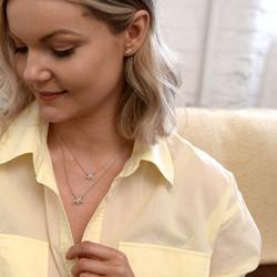 Obrázek č. 7 k produktu: Stříbrné náušnice Hot Diamonds Daisy DE604