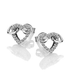 Obrázek è. 2 k produktu: Støíbrné náušnice Hot Diamonds Flora DE605