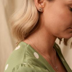 Obrázek č. 9 k produktu: Stříbrné náušnice Hot Diamonds Flora RG DE606