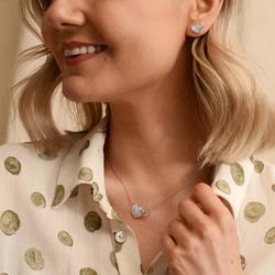 Obrázek č. 7 k produktu: Stříbrné náušnice Hot Diamonds Flora DE607