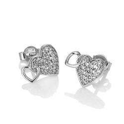 Obrázek č. 1 k produktu: Stříbrné náušnice Hot Diamonds Flora DE607