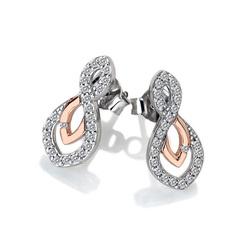 Obrázek č. 9 k produktu: Stříbrné náušnice Hot Diamonds Lily RG DE608