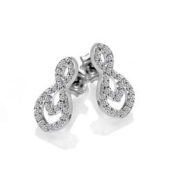 Obrázek č. 1 k produktu: Stříbrné náušnice Hot Diamonds Lily DE609
