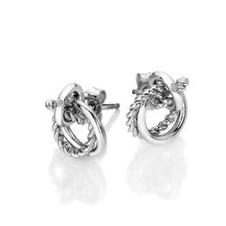 Obrázek è. 2 k produktu: Støíbrné náušnice Hot Diamonds Jasmine DE610