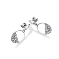 Obrázek č. 1 k produktu: Stříbrné náušnice Hot Diamonds Horizon Topaz DE622