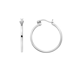 Obrázek č. 3 k produktu: Stříbrné náušnice Hot Diamonds Hoops DE625