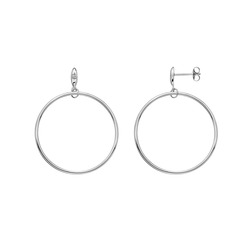 Obrázek č. 1 k produktu: Stříbrné náušnice Hot Diamonds Hoops DE630