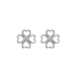 Obrázek č. 1 k produktu: Stříbrné náušnice Hot Diamonds Lucky in Love DE632