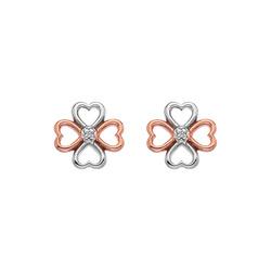 Obrázek č. 1 k produktu: Stříbrné náušnice Hot Diamonds Lucky in Love RG DE633