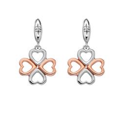 Obrázek č. 2 k produktu: Stříbrné náušnice Hot Diamonds Lucky in Love RG DE635