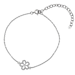 Støíbrný náramek Hot Diamonds Daisy DL579