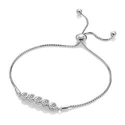 Obrázek è. 2 k produktu: Støíbrný náramek Hot Diamonds Willow DL581