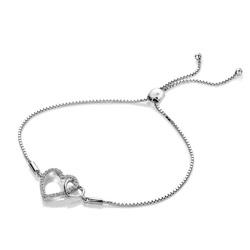 Obrázek č. 1 k produktu: Stříbrný náramek Hot Diamonds Flora DL589