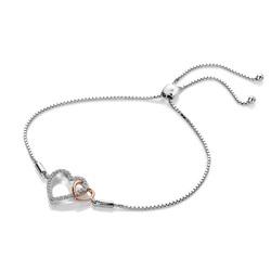 Obrázek č. 1 k produktu: Stříbrný náramek Hot Diamonds Flora RG DL590