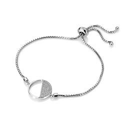 Obrázek č. 1 k produktu: Stříbrný náramek Hot Diamonds Horizon Topaz DL601