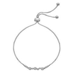 Støíbrný náramek Hot Diamonds Tender DL607