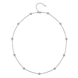 Stříbrný náhrdelník Hot Diamonds Willow 45 DN130