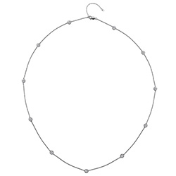 Støíbrný náhrdelník Hot Diamonds Willow 60 DN131