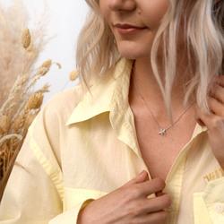 Obrázek č. 13 k produktu: Stříbrný náhrdelník Hot Diamonds Daisy DN134