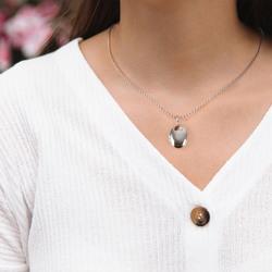 Obrázek č. 9 k produktu: Stříbrný přívěsek Hot Diamonds Memories Oval Locket