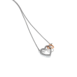 Obrázek è. 2 k produktu: Støíbrný pøívìsek Hot Diamonds Flora RG DP732