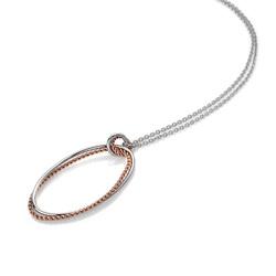 Obrázek č. 1 k produktu: Stříbrný přívěsek Hot Diamonds Jasmine RG DP742