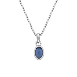 Pøívìsek Hot Diamonds Birthstone Záøí DP762