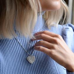 Obrázek č. 11 k produktu: Stříbrný náhrdelník Hot Diamonds Memories Heart Locket DP770