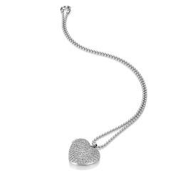 Obrázek č. 1 k produktu: Stříbrný náhrdelník Hot Diamonds Memories Heart Locket DP770