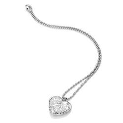 Obrázek č. 3 k produktu: Stříbrný náhrdelník Hot Diamonds Memories Heart Locket DP772