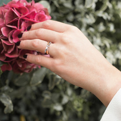 Obrázek č. 13 k produktu: Stříbrný prsten Hot Diamonds Eternity Vermeil