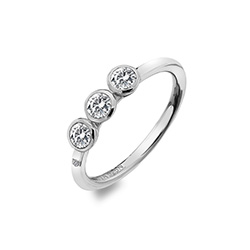 Støíbrný prsten Hot Diamonds Willow DR205