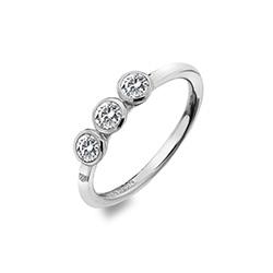 Støíbrný prsten Hot Diamonds Willow DR205