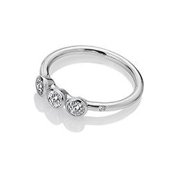 Obrázek è. 2 k produktu: Støíbrný prsten Hot Diamonds Willow DR205