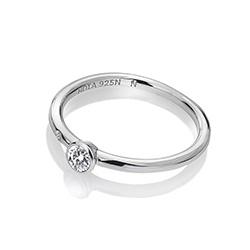 Obrázek č. 1 k produktu: Stříbrný prsten Hot Diamonds Willow DR206