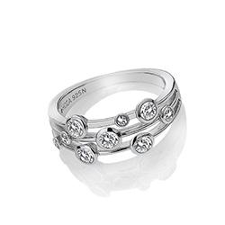 Obrázek è. 2 k produktu: Støíbrný prsten Hot Diamonds Willow DR207