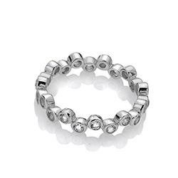 Obrázek č. 1 k produktu: Stříbrný prsten Hot Diamonds Willow DR208