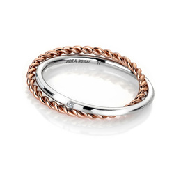 Obrázek è. 2 k produktu: Støíbrný prsten Hot Diamonds Jasmine RG DR211