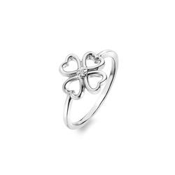 Obrázek č. 1 k produktu: Stříbrný prsten Hot Diamonds Lucky in Love DR215