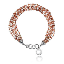 Obrázek č. 5 k produktu: Stříbrný náramek Hot Diamonds Emozioni Plate Bead Luxury