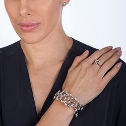 Obrázek è. 4 k produktu: Støíbrný prsten Hot Diamonds Emozioni se zirkony ER023