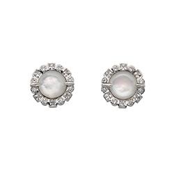 Obrázek è. 2 k produktu: Støíbrné náušnice Hot Diamonds Emozioni Iridesente EE033