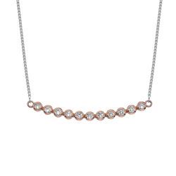 Náhrdelník Hot Diamonds Emozioni Luminoso RG EN003