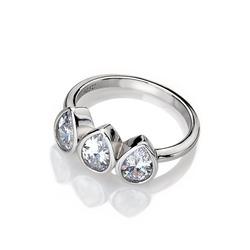 Obrázek è. 2 k produktu:  Prsten Hot Diamonds Emozioni Acqua Amore ER026